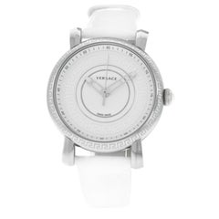 Authentic New Versace Day Glam Steel Quartz Watch