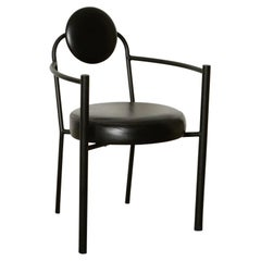Authentic Postmodern Memphis Design Sculptural Armchairs by Amisco