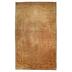 Authentic Savonnerie Botanic Handmade Wool Carpet