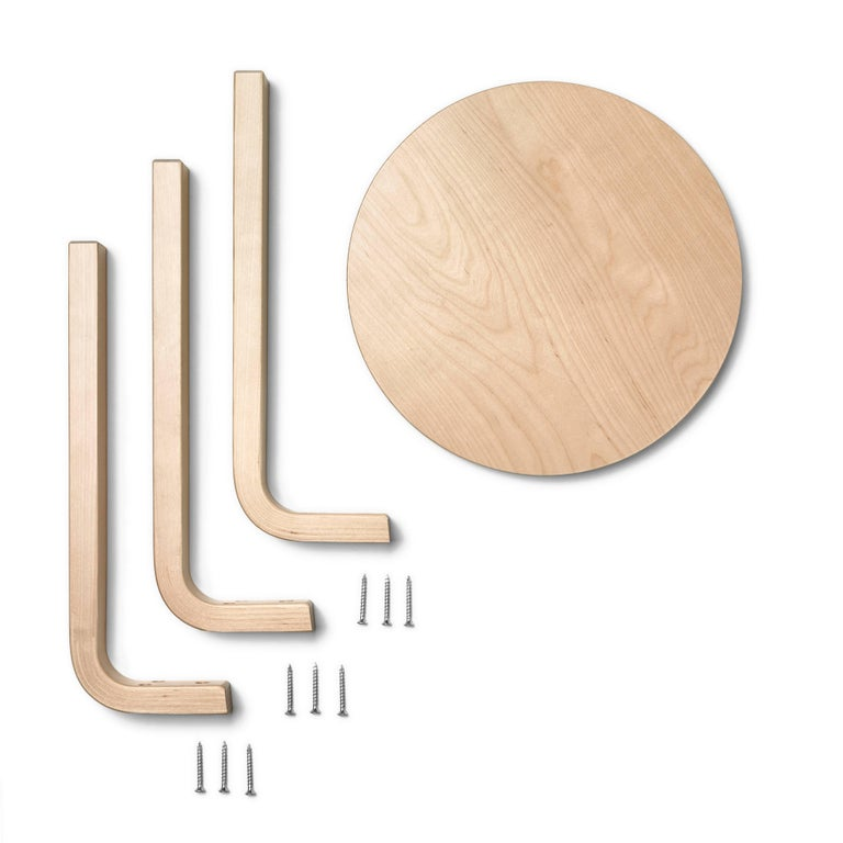 In the late 1920s, architect and designer Alvar Aalto began experimenting with bending wood. In collaboration with furniture manufacturer Otto Korhonen, the Finnish master developed a ground-breaking process that resulted in the L-leg. To create the