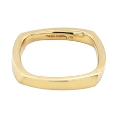 Authentic Tiffany & Co. 18k Yellow Gold Frank Gehry Torque Ring