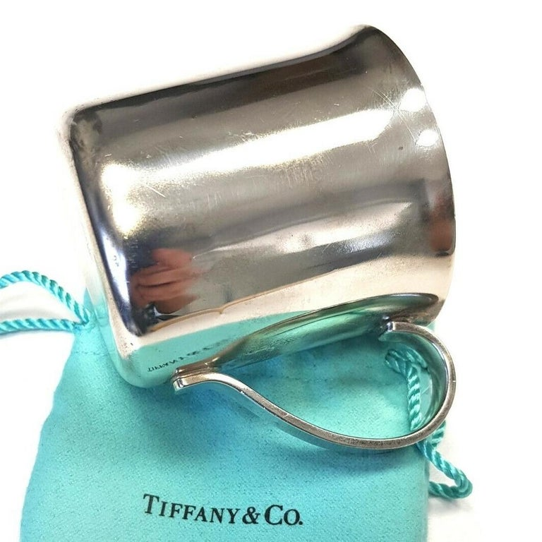 Contemporary Authentic Tiffany & Co. 925 Sterling Silver 23245 Baby Cup, circa 1990 For Sale