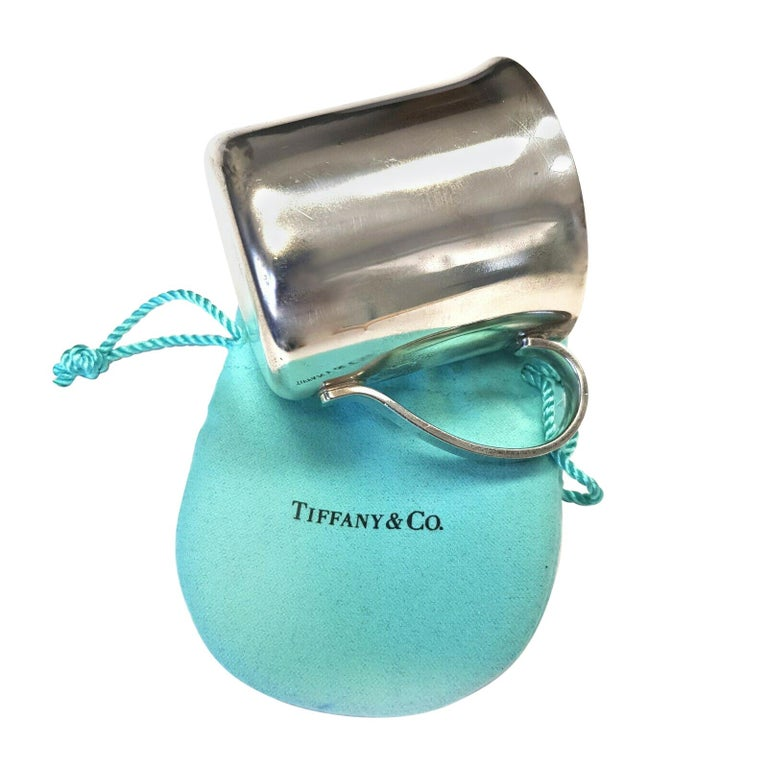 Authentic Tiffany & Co. 925 Sterling Silver 23245 Baby Cup, circa 1990 For Sale
