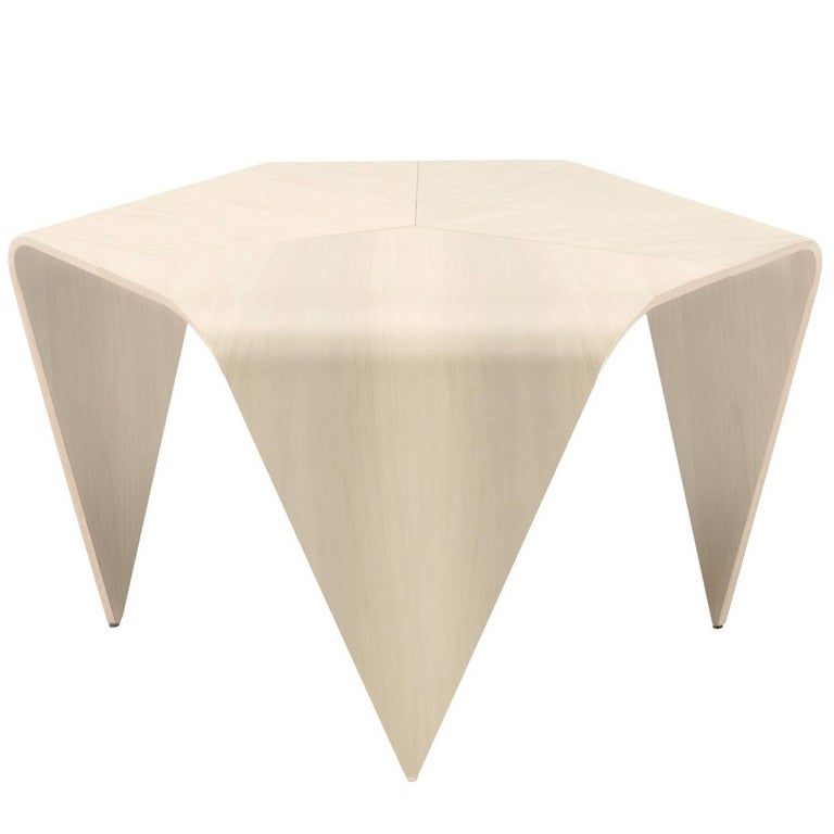 Authentic Trienna Table in Birch Finish by Imari Tapiovaara & Artek For Sale