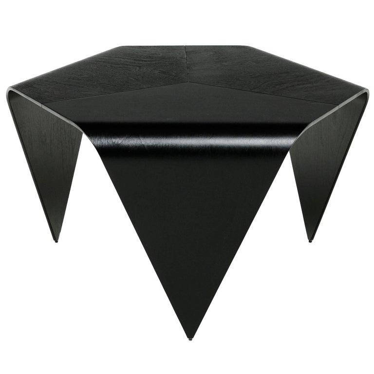 Authentic Trienna Table in Black Stain by Imari Tapiovaara & Artek