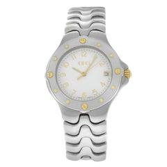 Authentic Unisex Ebel Sportwave Stainless Steel Quartz Watch