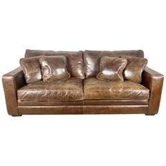 Authentic Vintage Ralph Lauren Sofa w/ Pillows