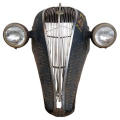 Automobile Grill Wall Art 1937 Hudson
