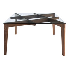 Autoreggente Square Dining Table by Patrizia Bertolini