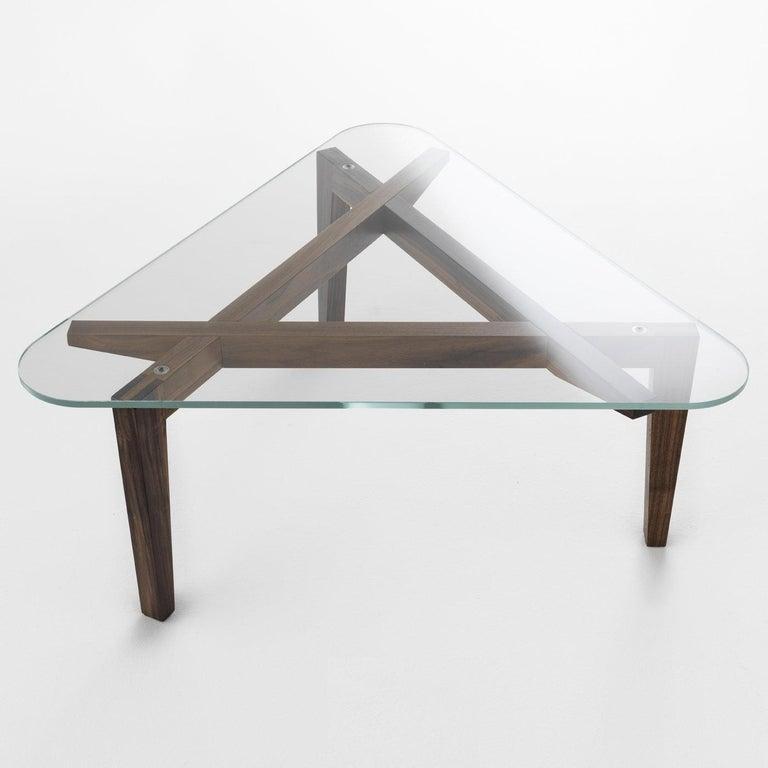 Autoreggente Triangular Coffee Table By Patrizia Bertolini For
