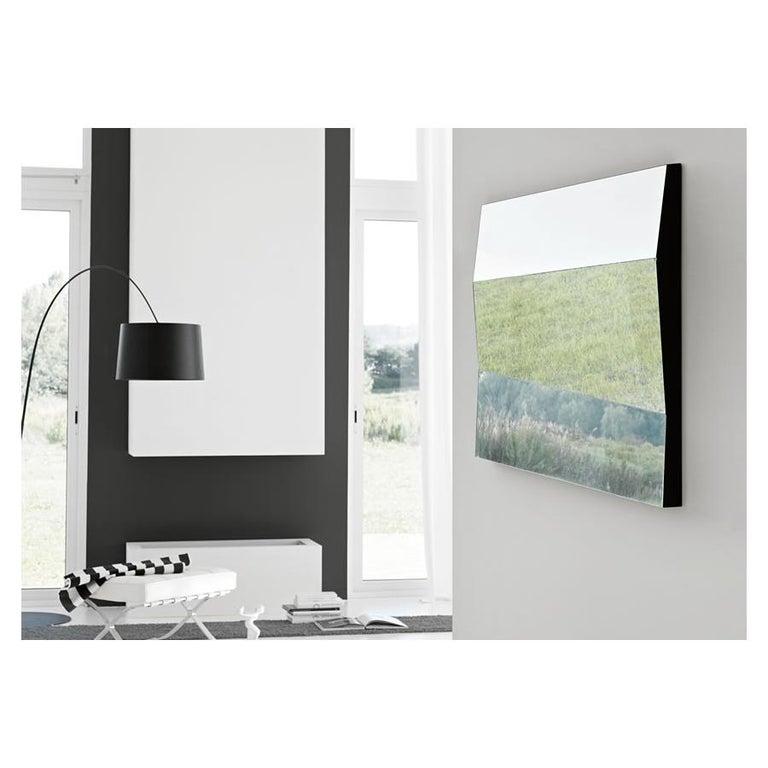 Italian Autostima Wall Mirror, Designed by Giovanni Tommaso Garattoni, Made in Italy For Sale