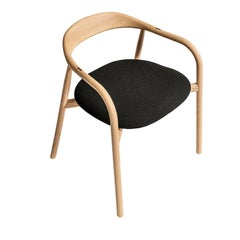Autumn Chair with Black Padded Seat by Discipline