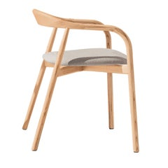 Autumn Chair with Gray Padded Seat by Discipline