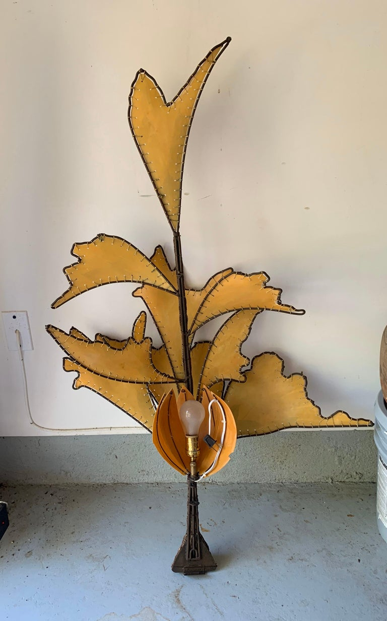 Autumn Leaves & Branches Wall Sconces, a Pair For Sale 2