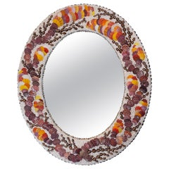 Autumn Walk, Unique Shell Mirror by Shellman Scandinavia