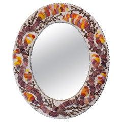 Autumn Walk, Unique Shell Mirror by Shellman Scandinavia