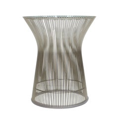 Auxiliary Table Designed by Warren Platner