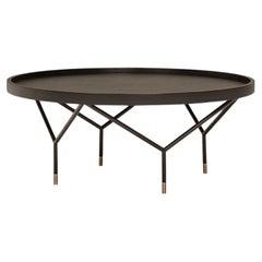 AVA Round Coffee Table Iron Base