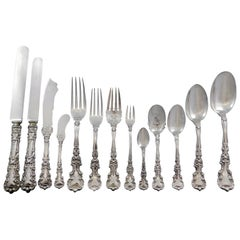 Avalon by International Sterling Silver Flatware Set 12 Service 160 Pcs Dinner