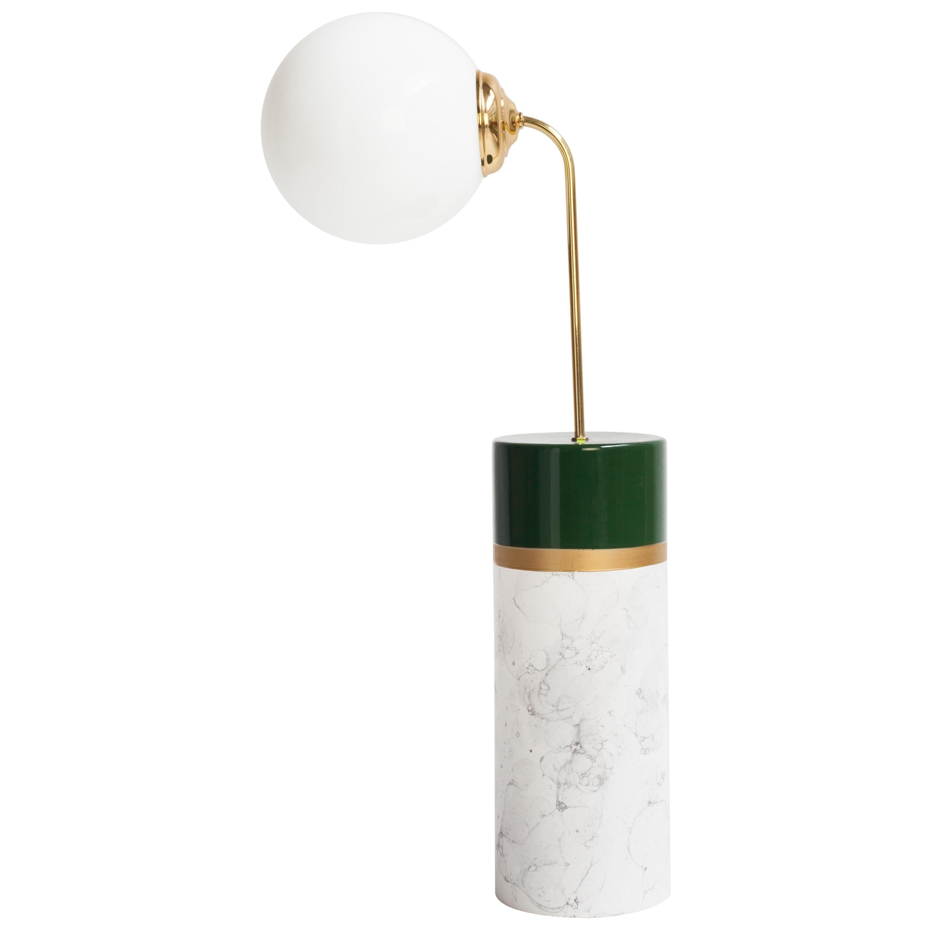 Avalon Round Floor Lamp by Houtique