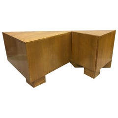 Avant-Garde French Mid-Century Modern Sideboard / Console by Alain Marcoz, 1956