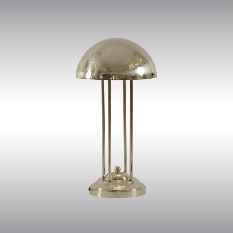 Avantgardistic Josef Hoffmann Secessionist Jugendstil Table Lamp Re-Edition  For Sale 2