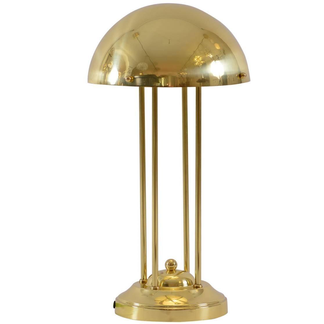 Avantgardistic Josef Hoffmann Secessionist Jugendstil Table Lamp Re-Edition