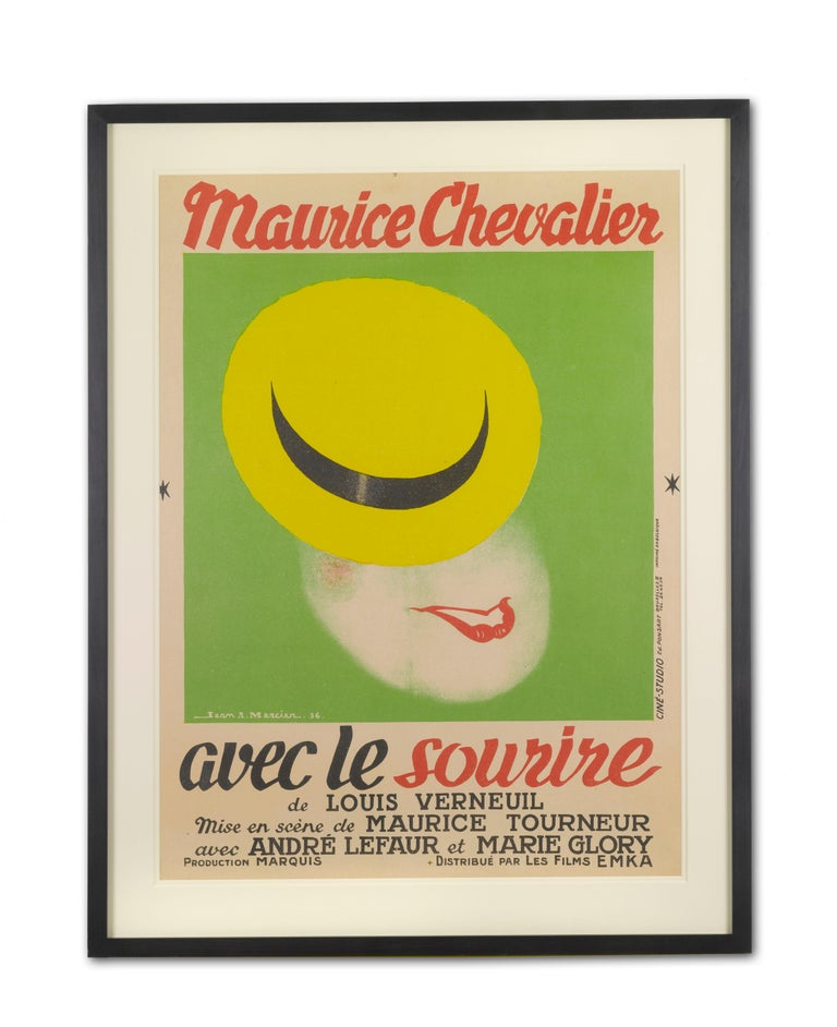 French Avec Le Sourire / with a Smile For Sale