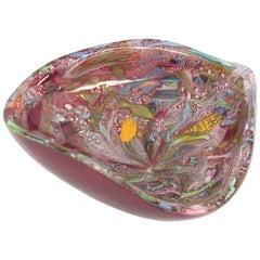 Avem Artistic Blown Murano Glass Bowl, circa 1950