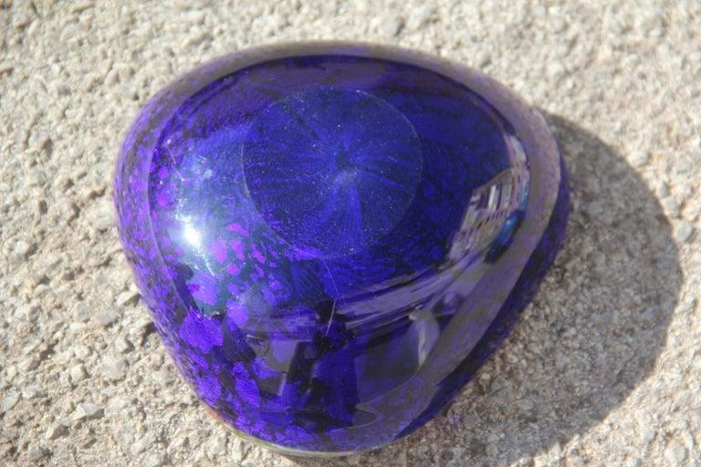 Avem Bowl Glass Murano Italian Design, 1950s Multicolor Toso Martens For Sale 4