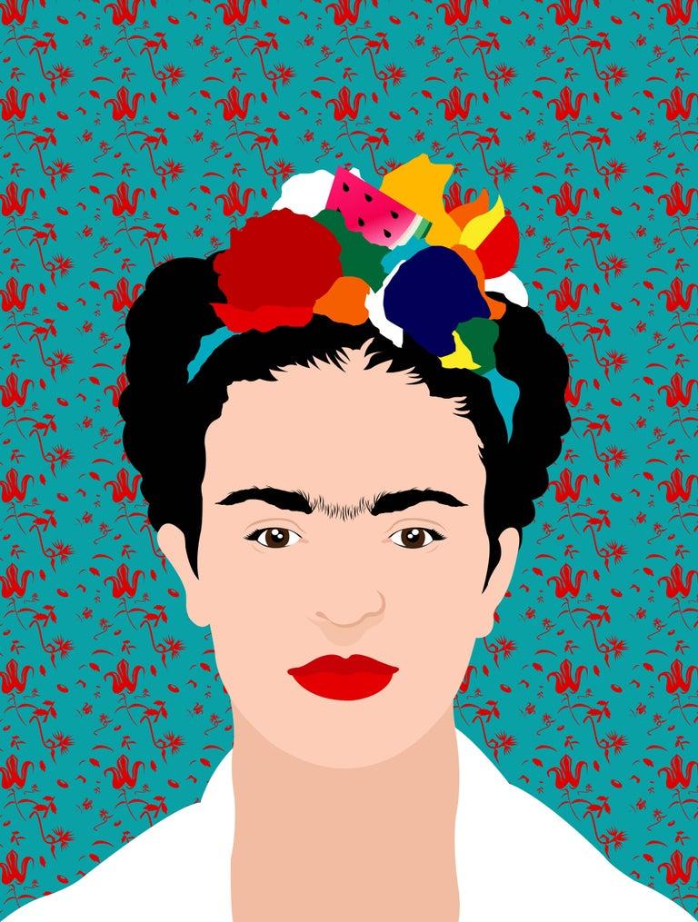 Avery Nejam Portrait Print - Viva la Vida, Frida #2