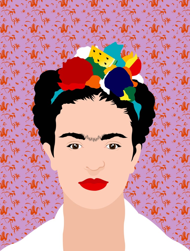 Avery Nejam Portrait Print - Viva la Vida, Frida #3