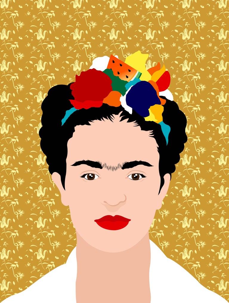 Avery Nejam Portrait Print - Viva la Vida, Frida #4