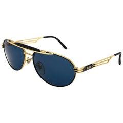 Aviator vintage sunglasses by Lozza, Italy 80s