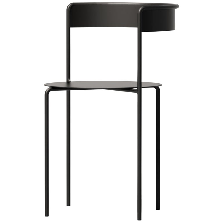 Avoa Chair in Black by Pedro Paulo Venzon For Sale