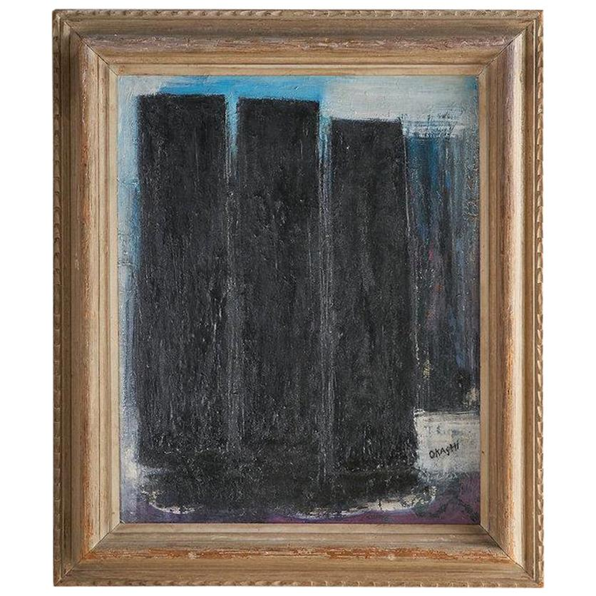 """Avshalom Okashi, """"Oil on Canvas"""", Israeli Artist"""
