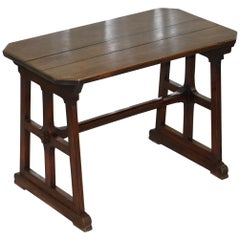 A.W.N Pugin Gothic Revival Vestry Writing Table Desk Made in England, circa 1780