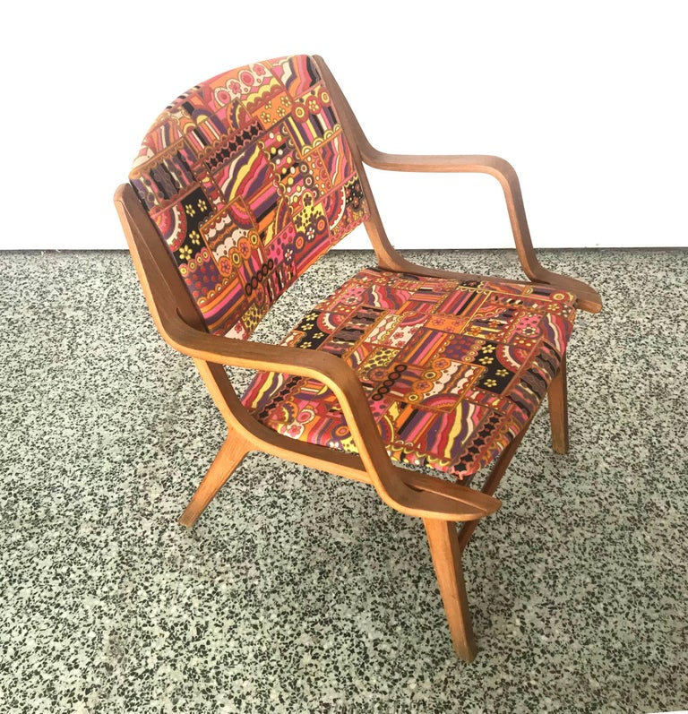 AX Chair by Peter Hvidt & Orla Mølgaard-Nielsen In Good Condition For Sale In St. Louis, MO