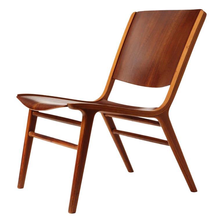 Ax Lounge Chair by Peter Hvidt & Orla Mølgaard-Nielsen