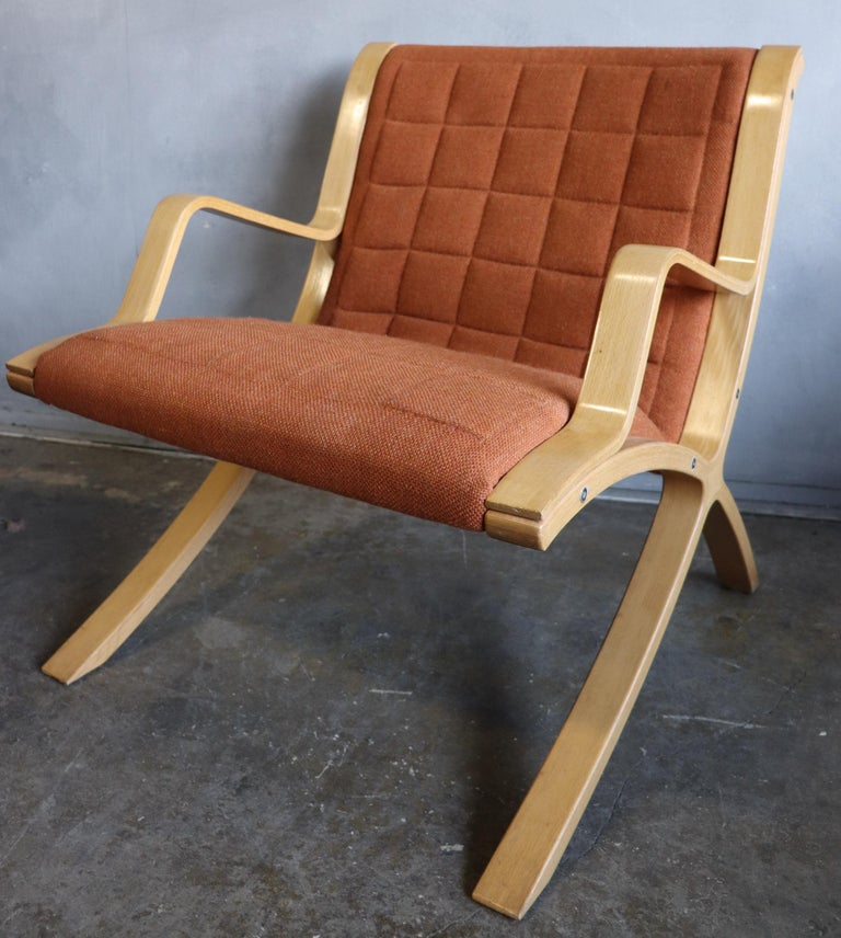 AX Lounge Chairs by Peter Hvidt & Orla Mølgaard Nielsen for Fritz Hansen For Sale 3