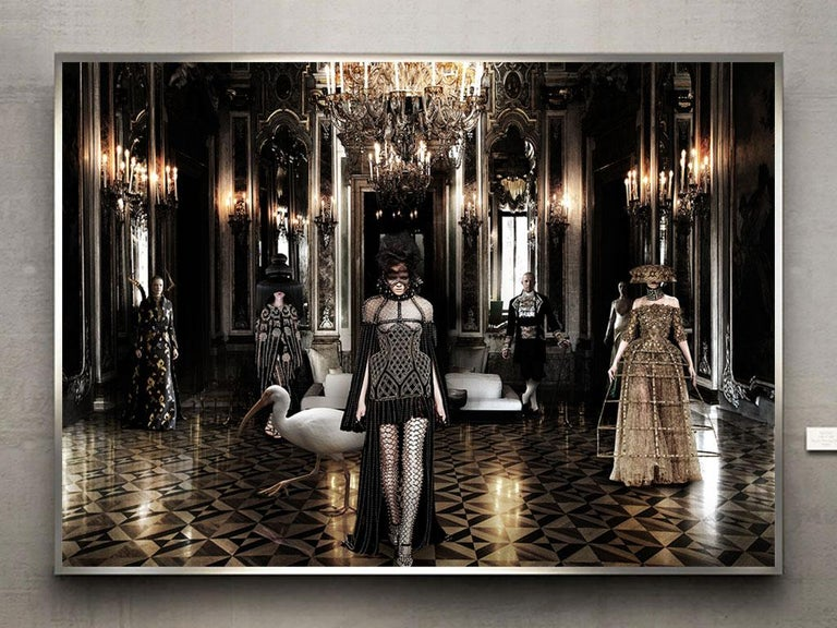 Tribute to Alexander Mcqueen - Photograph by Axel Crieger