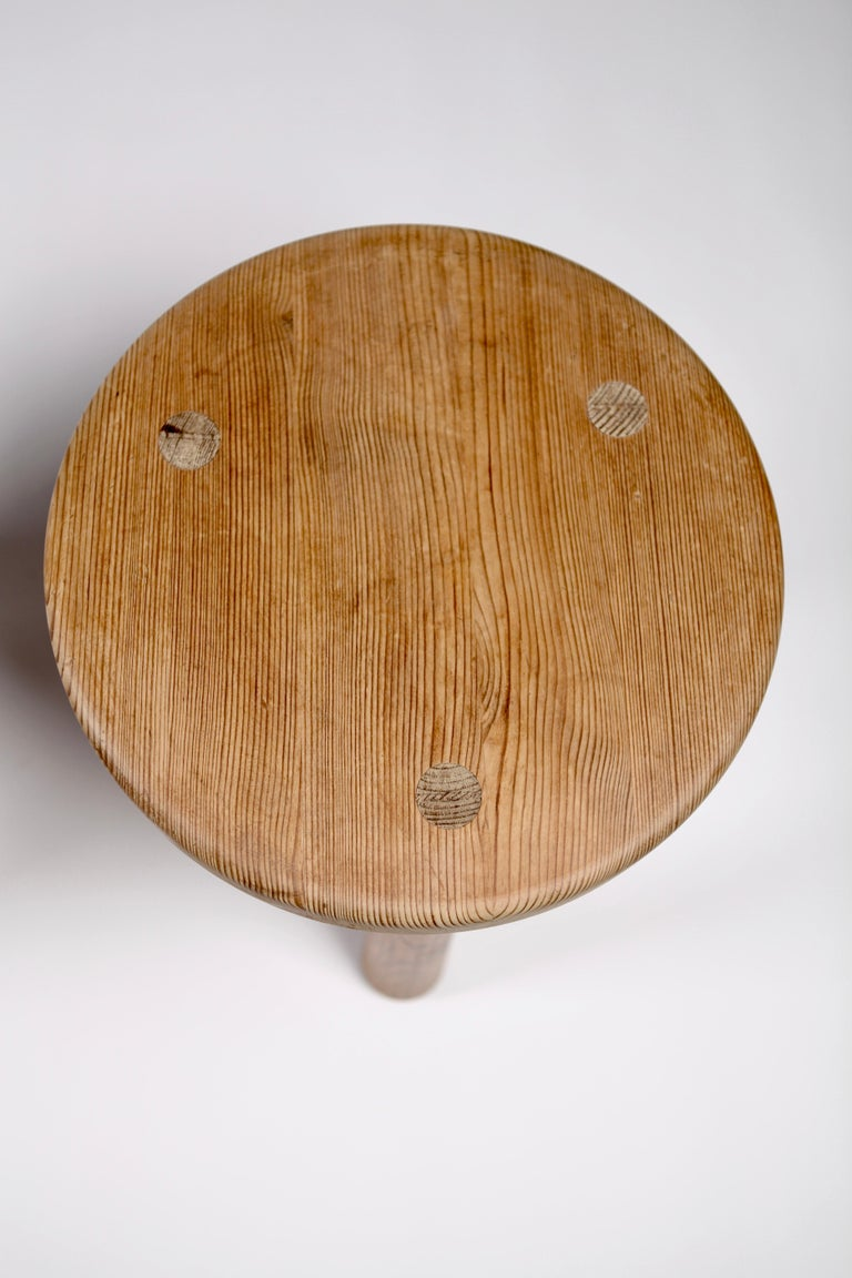 Axel Einar Hjorth, a Pair of Utö Stools, Nordiska Kompaniet, 1932 For Sale 2