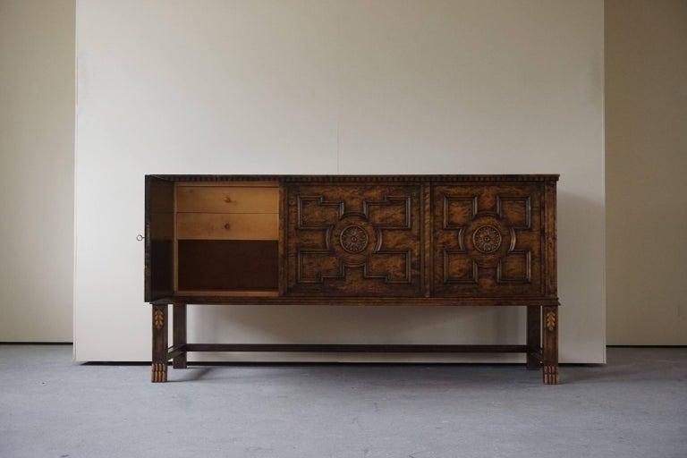 Axel Einar Hjorth Art Deco Sideboard, Model
