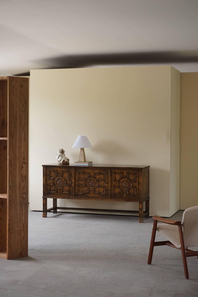 Early 20th Century Axel Einar Hjorth Art Deco Sideboard, Model