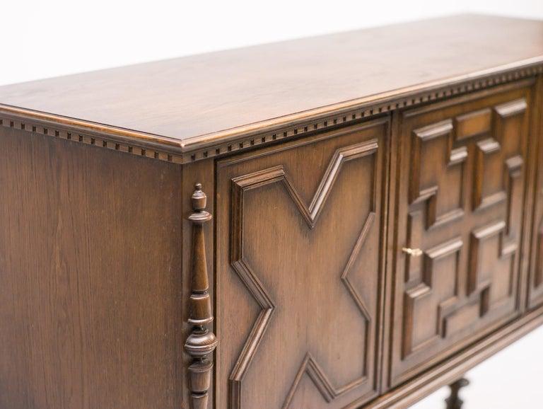 Art Deco Axel Einar Hjorth Bar Cabinet For Sale