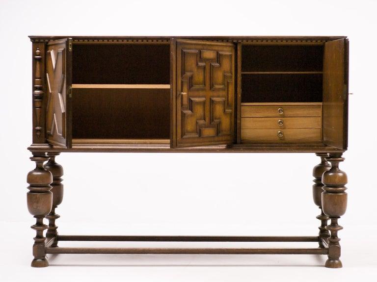 Swedish Axel Einar Hjorth Bar Cabinet For Sale