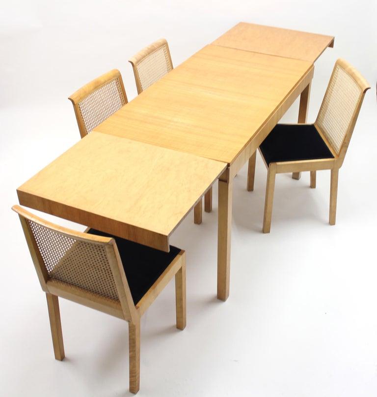 Scandinavian Modern Axel Einar Hjorth, Dining Set, Nordiska Kompaniet, 1930s For Sale