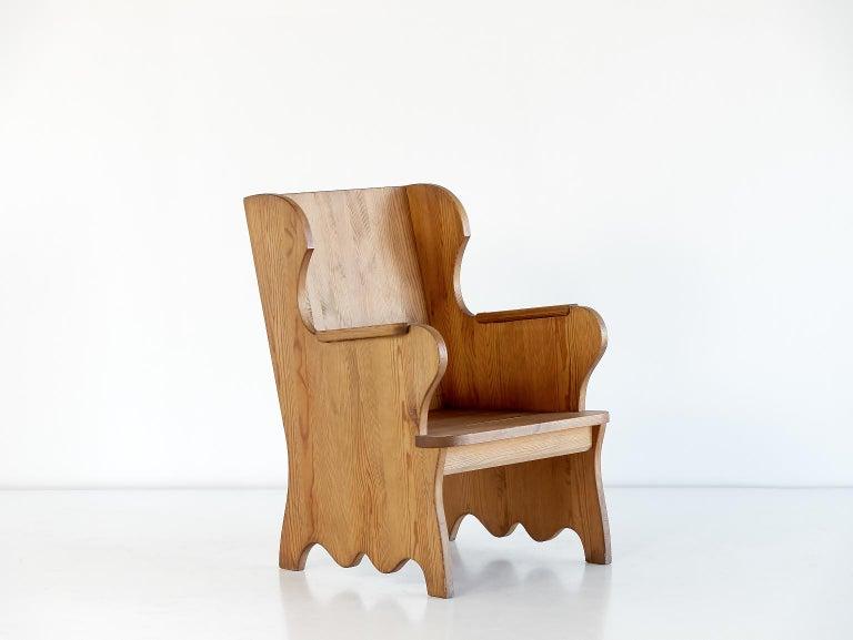 Axel Einar Hjorth Lovö Armchair for Nordiska Kompaniet, Sweden, 1932 In Good Condition For Sale In The Hague, NL