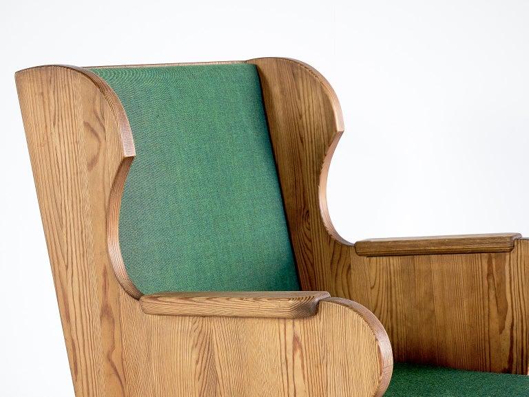 Fabric Axel Einar Hjorth Lovö Armchair for Nordiska Kompaniet, Sweden, 1932 For Sale