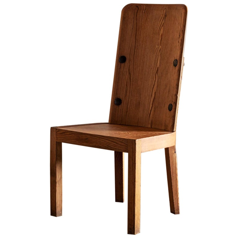 Axel Einar Hjorth Lovo Chair by Nordiska Kompaniet, 1930s For Sale
